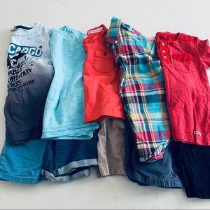 Boys summer mix and match bundle lot